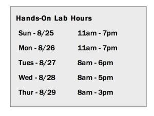 vmworld 2013 lab hours